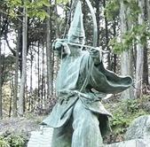 源頼政の鵺退治像を観光(長明寺)~兵庫県西脇市~